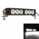 "MZ 12"" 60W 4800LM 6000K White Flood Beam LED Worklight Bar Offroad 4WD SUV Driving Lamp"