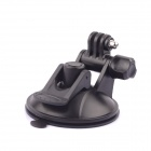 SMJ G-737 Car Suction Cup Mount for GoPro Hero 1 / 2 / 3 / 3+ / 4 - Black