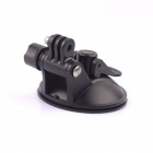 Car Suction Cup Mount for GoPro Hero 1 / 2 / 3 / 3+ / 4 - Black