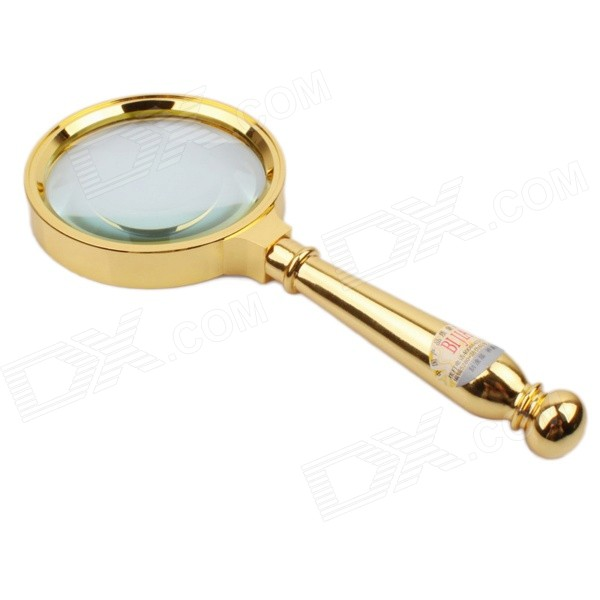 BIJIA YT-245 Handheld Zinc Alloy 70mm 8X Magnifier - Golden всесезонные шины 245 70 16 купить