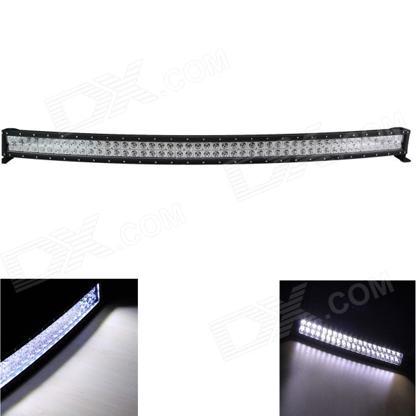 GULEEK 288W 6000K 20160lm Type/G 96-LED White Flood + Spot Work Light Bar for Car / Boat guleek 60w type h 4200lm 6000k 6 led white flood spot light worklight bar for car boat