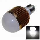 ZHISHUNJIA E27 12W LED Neutral White Light Bulb - Golden + White