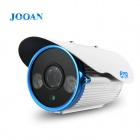 JOOAN JA-513MRD 1/3'' CCD Effio-E HD 1080TVL 8MM Lens CCTV Bullet Camera w/ 2-IR Night Vision
