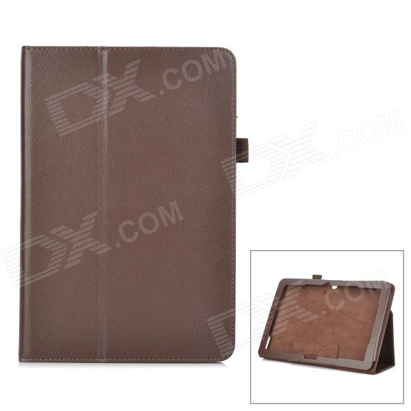 Protective PU Leather Smart Case w/ Stand for ACER A3-A20 - Brown