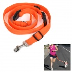 Adjustable Nylon Strap Leash for Pet Dog - Orange