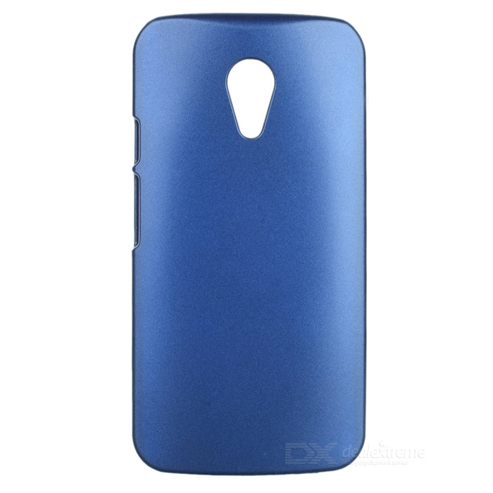 PUDINI LX-PDLG2 Protective PC Back Case Cover for Motorola Moto G2 - Blue Green protective abs back case cover for motorola moto g2 black