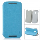 PUDINI WB-LGG2 Protective PU Leather Flip-Open Case for Motorola MOTO G2 - Blue