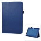 Protective Flip-Open PU Full Body Case Cover w/ Auto Sleep / Stand for ACER A3-A20 - Blue