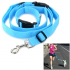 Adjustable Nylon Strap Leash for Pet Dog - Blue