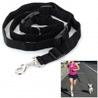 Adjustable Nylon Strap Leash for Pet Dog - Black