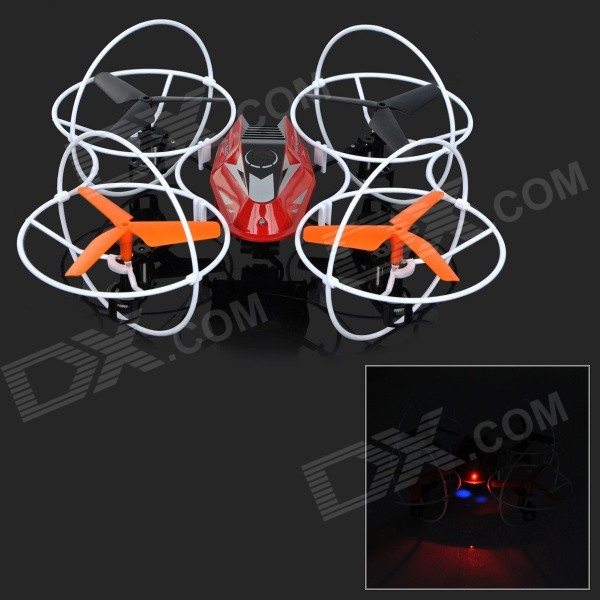 JJRC 500B 2.4GHz 4-CH 6-Axis Gyro R/C Quadcopter Aircraft Toy w/ 0.3MP Camera - Black + Red цена и фото