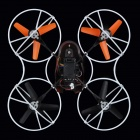 JJRC 500B 2.4GHz 4-CH 6-Axis Gyro R/C Quadcopter Aircraft Toy w/ 0.3MP Camera - Black + Red