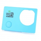 Replacement Water-resistant Protective Camera Front Cover w/ Wi-Fi for SJ5000 - Blue
