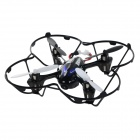 JJRC H6C-2 2.4GHz 4-CH 6-Axis Gyro R/C Quadcopter Aircraft Toy w/ 2.0MP Camera - Black + Blue