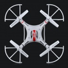 JJRC H8C-2 2.4 GHz 4-CH 6-Axis Gyro R / C Quadcopter Aircraft Toy com câmera 2.0MP HD - Branco