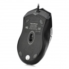 R.Horse FC-1618 USB Wired 2000dpi Gaming Mouse-Musta