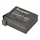 Kingma AHDBT-401 Batteries + Charger + Adapter for GoPro Hero 4 -Black