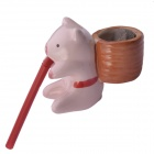 NEJE Self Watering Cute Pig Style Plant Pot - Pig (Clover)