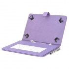 "USB Wired 84-Key Keyboard w/ Case for Samsung 9"" Tablet PC - Purple"