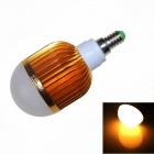 ZHISHUNJIA G14-12W E14 12W LED Warm White Bulb - Golden + White