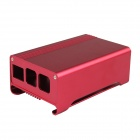 High Quality Aluminum Alloy Case Enclosure Box for Raspberry Pi 2 Model B & Raspberry Pi B+ - Red