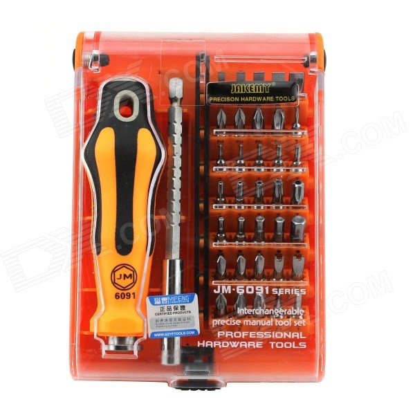 37-in-1 Household Appliances Disassemble Screwdriver Set - Orange + Silver + Black 6632l 0066a 6632l 0067a with lc320w01 used disassemble