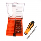 37-in-1 Household Appliances Disassemble Screwdriver Set - Orange + Silver + Black