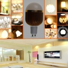 ZHISHUNJIA G10-8 GU10 8W LED Warm White Bulb - Gold + White