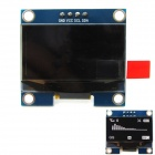 1.3'' 128 x 64 White Color OLED Display Module w/ I2C Interface for Arduino / RPi / AVR / ARM / PIC
