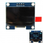 1.3'' 128 x 64 Blue Color OLED Display Module w/ I2C Interface for Arduino / RPi / AVR / ARM / PIC
