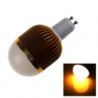 ZHISHUNJIA G10-12W GU10 12W LED Warm White Bulb - Gold + White