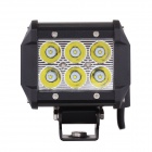 "MZ 4 ""18W 1530LM 6000K White Spot Beam LED Worklight Bar pour camion UTV 4WD Offroad Driving Lamp"