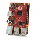 Raspberry PI B + 512 Vorstands w / HDMI / USB 2.0 / Micro-USB- / TF / 3,5 mm Klinke - Red