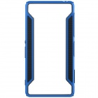 NILLKIN Protective TPU + PC Bumper Frame Case for Sony Xperia Z3 - Black + Blue