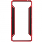 NILLKIN Protective TPU + PC Bumper Frame Case for Sony Xperia Z3 - Black + Red