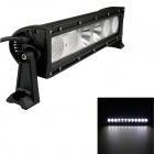 GULEEK 60W Type/H 4200lm 6000K 6-LED White Flood + Spot Light Worklight Bar for Car / Boat