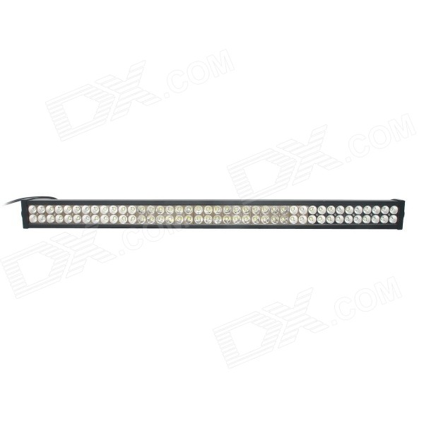 GULEEK 240W 16800lm 6000K 80-LED White Flood + Spot Beam Work Light Bar for Car / Boat guleek 60w type h 4200lm 6000k 6 led white flood spot light worklight bar for car boat