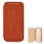 PUDINI WB-LGG2 Flip-Open PU Leather Case for Moto G2 - Brown