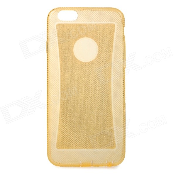 Sparkling Protective TPU Back Case Cover for IPHONE 6 - Orange