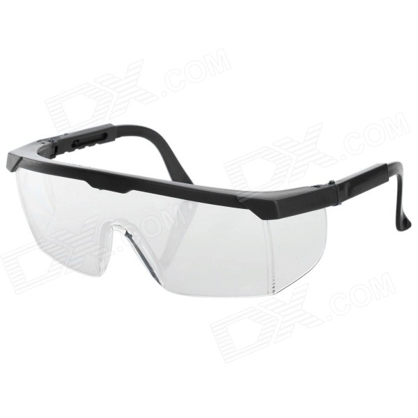 Professional Safety Protection Goggles for Electric Welding - Black + Transparent