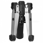 "Universal Tripod Support Base for Monopod / Tripod w/ 3/8"" Screw - Black + Silver"