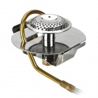 Outdoor Camping Gas Stove for High Cold Low-Pressure Area - Silver