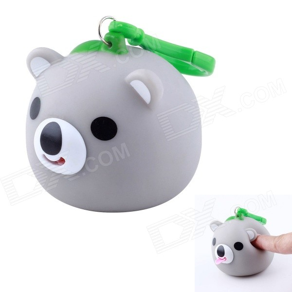 D0025 Hang Series Funny Cute Koala Stress Reliever Toy - Gray