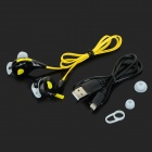 Nameblue T-1 Bluetooth V4.0 In-Ear Music Sports Headphone - Black + Yellow