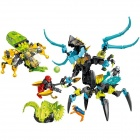 44029 Genuine LEGO Hero Factory Queen Beast VS Fano & Evolution & Stormer