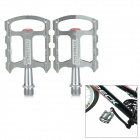 CYCLETRACK CK-108 Lightweight CNC Aluminum Bicycle Pedals - Silvery Grey (2 PCS)