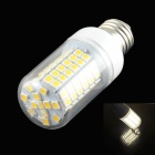 HZLED E27 15W LED Warm White Light Lamp - White (AC 220~240V)