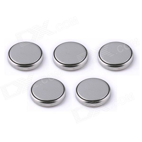 Lvxianzhou E0101 CR1632 3V 220mAh Lithium Cell Button Batteries (5 PCS)