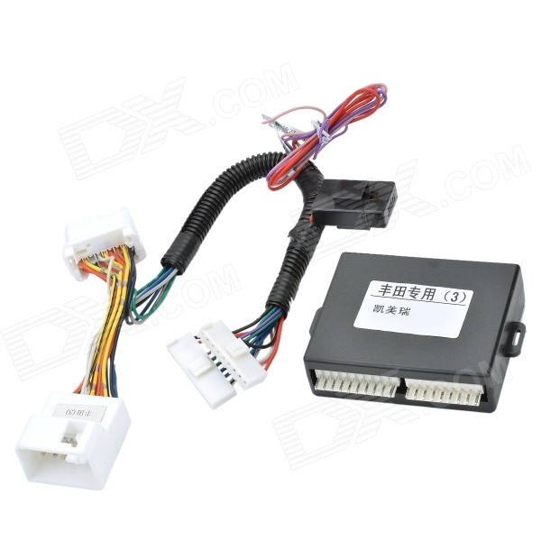 8 ~ 15V Car 4-Window Automatic Up Down / Open / Close Controller / para Toyota Camry - Black