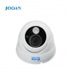 "JOOAN JA-583MRB Waterproof 1/3"" CCD 1080TVL Wide Angle IR Array HD CCTV Dome Camera - White (PAL)"